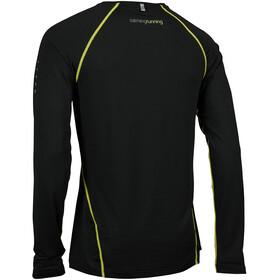 Salming Balance Langarm T-Shirt Herren black